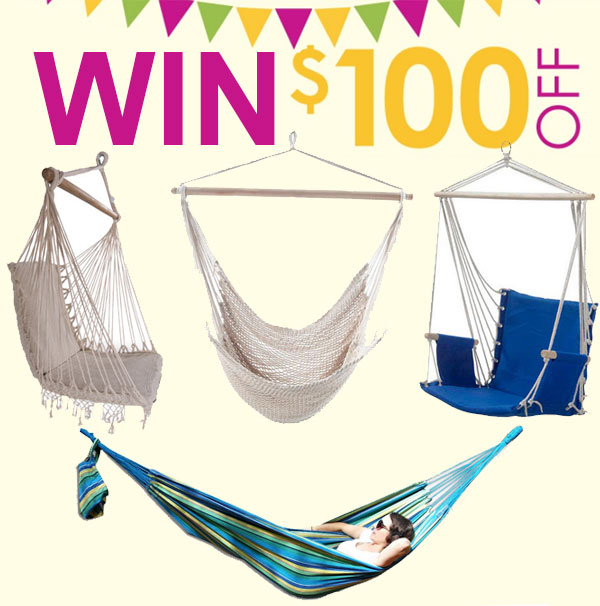 Win a $100 Heavenly Hammocks Voucher