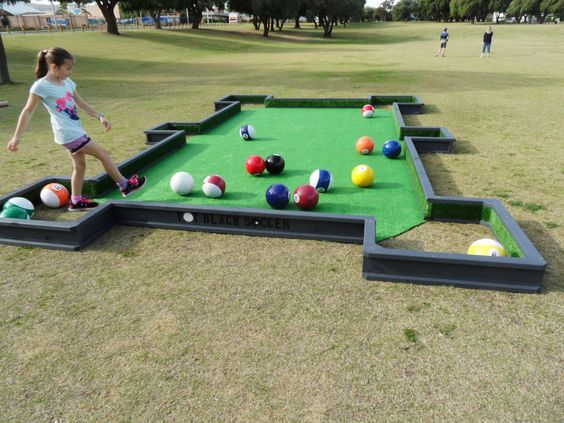 Grass Billiards (Pool)