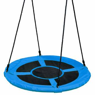100cm Blue Round Mat Nest Swing