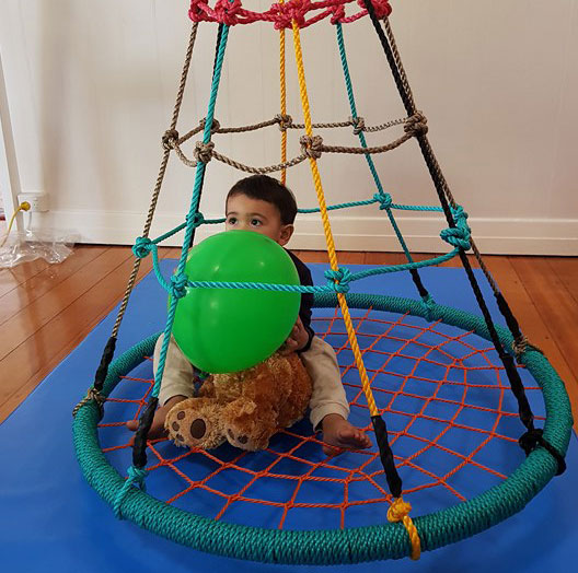 100cm Climbing Nest Swing With Stand Heavenly Hammocks