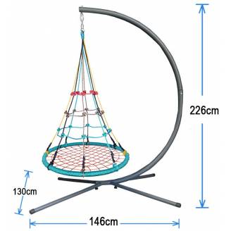 100cm Climbing Nest Swing with Stand