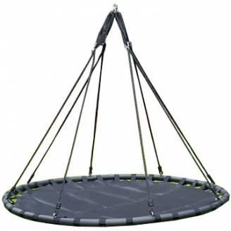 150cm Black Mat Nest Swing