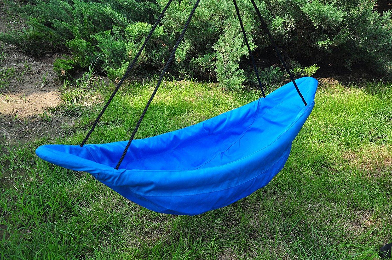 home  u003e swings 150cm blue canoe nest swing   heavenly hammocks  rh   heavenlyhammocks   au