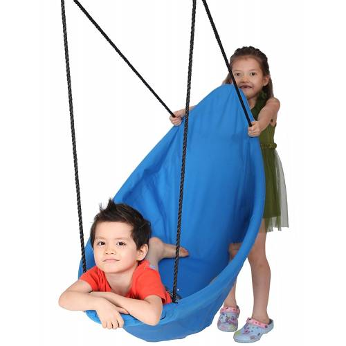 150cm Blue Canoe Nest Swing