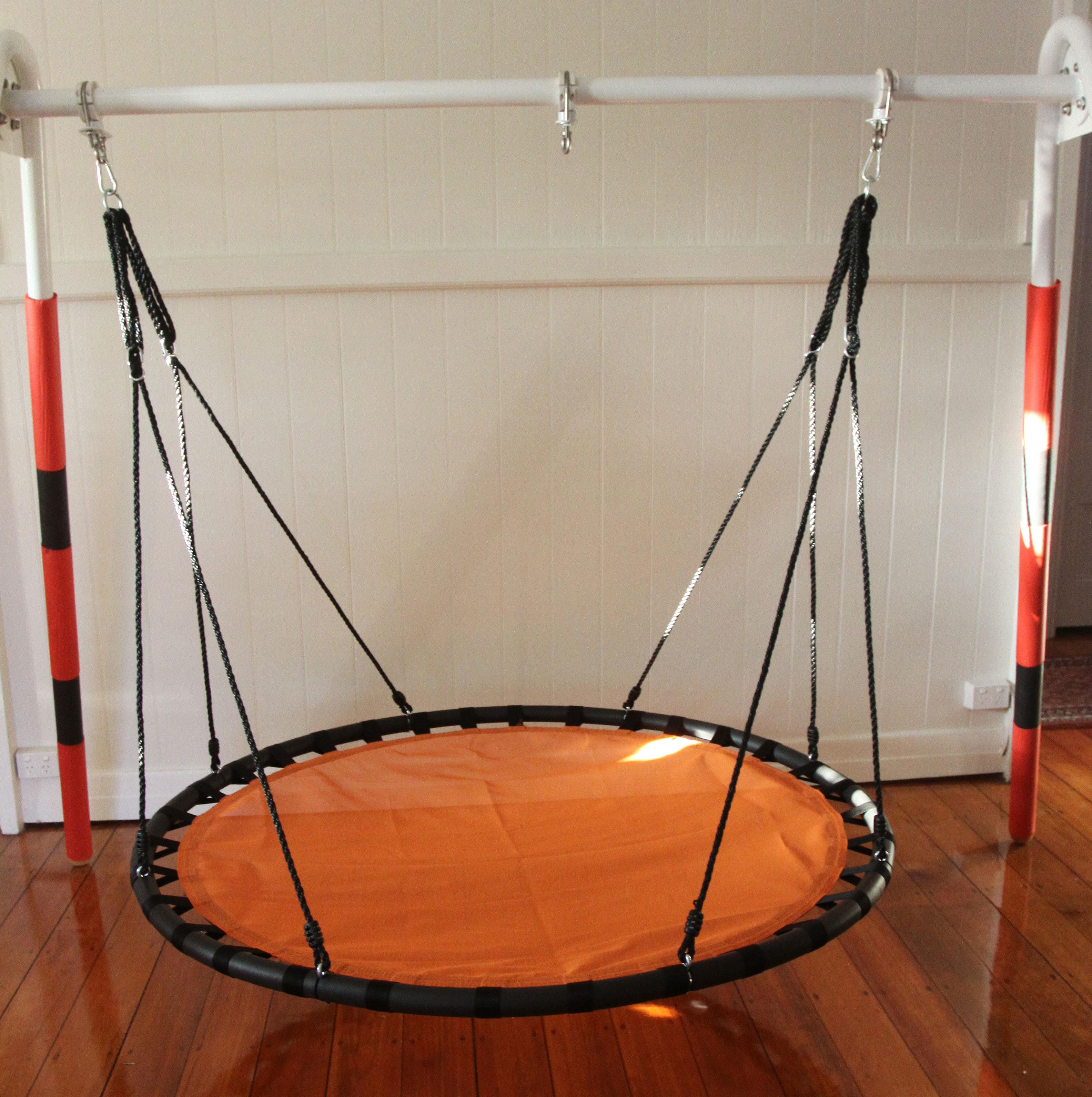 150cm Orange Mat Nest Swing Heavenly Hammocks
