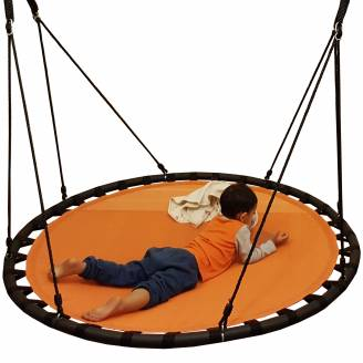 150cm Orange Mat Nest Swing
