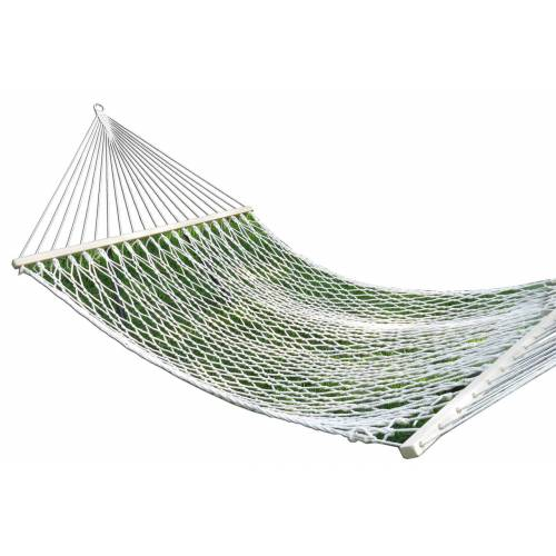 Large White Cotton Rope Hammock