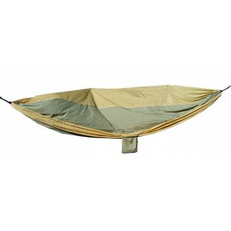 Large Beige and Green Parachute Hammock