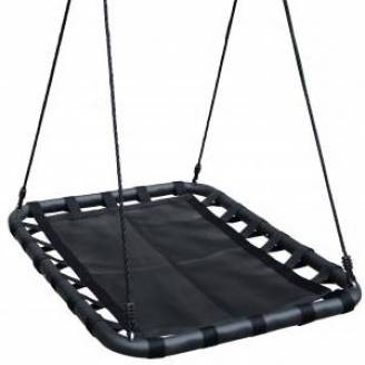 100cm Black Rectangle Mat Nest Swing