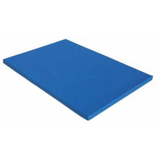 180x120x5cm Blue Padded Safety Mat with Velcro Sides