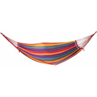 Medium Bright Multi Coloured Canvas Hammock