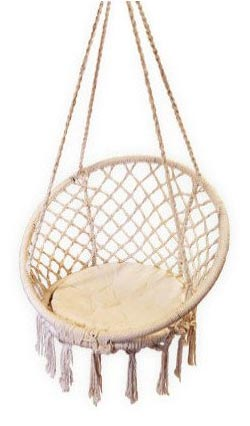 Marvelous Circle Macrame Hammock Chair   No Model