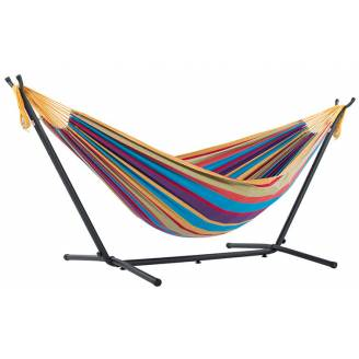 Free Standing Hammock: Large Mixed Bright Colours