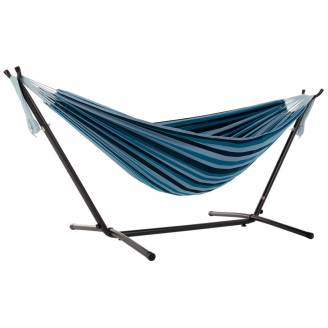 Free Standing Hammock: Large Mixed Blues