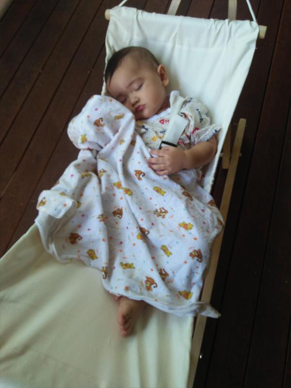 Free Standing Baby Hammock Heavenly Hammocks