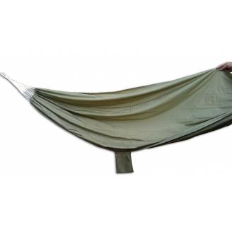 Medium Gray Green Parachute Hammock