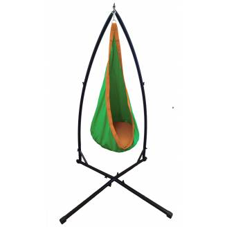 Green and Orange Waterproof Sensory Swing with Stand