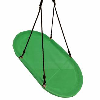 Green Oval Seat Swing