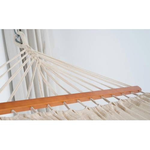 Large Beige Canvas Hammock Spreader Bar