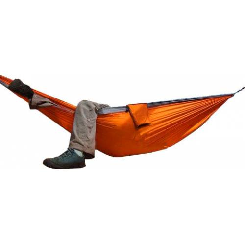 Orange and Black Parachute Hammock