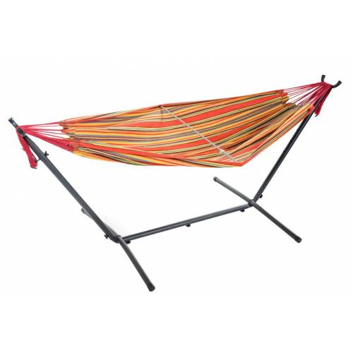 Free Standing Hammock - Multi-Colour Orange