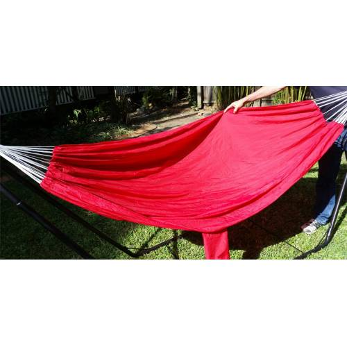 Medium Red Parachute Hammock