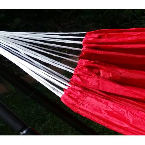 Medium Red Parachute  Ropes