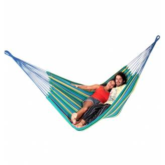 Large Teal Blue Canvas Hammock