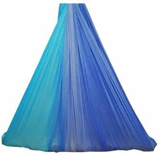 Large Tritone Silky Nylon Wrap Swing (Teal Blue) (450x250cm)