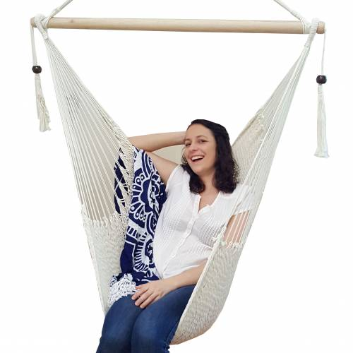 Woven Rope Hammock Chair